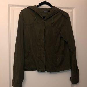 brandy melville hooded jacket